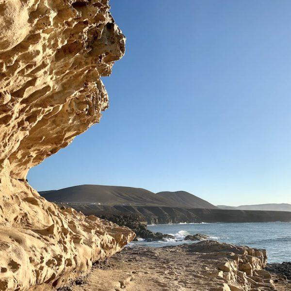 Felsen Küstenwanderung Fuerteventura Ajuy