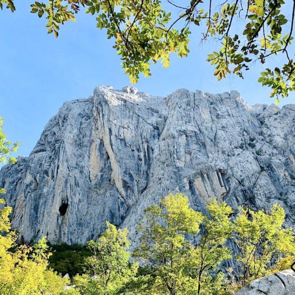 Felsen Paklenica Nationalpark Kroatien