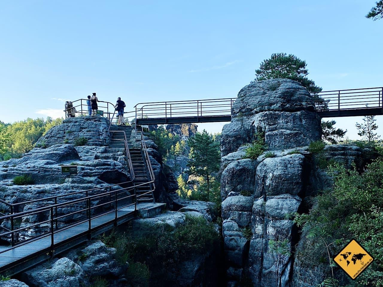 Felsenburg Neurathen Basteibrücke Sächsische Schweiz
