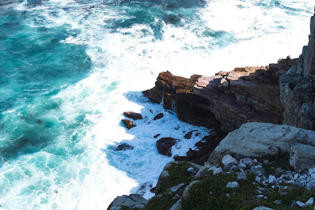 Felsküste Kap der guten Hoffnung Südafrika