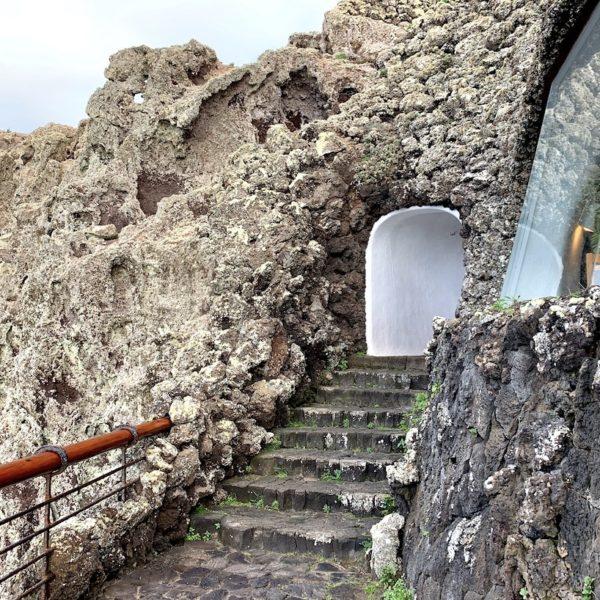 Felswand Treppe Mirador del Río