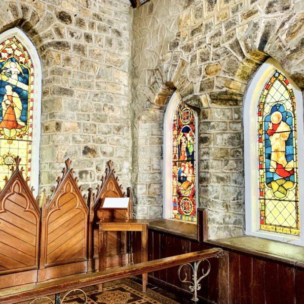 Fenster Innenraum Christ Church Warleigh