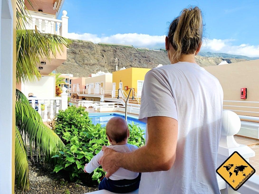 Ferienwohnung Puerto Naos Blick Pool