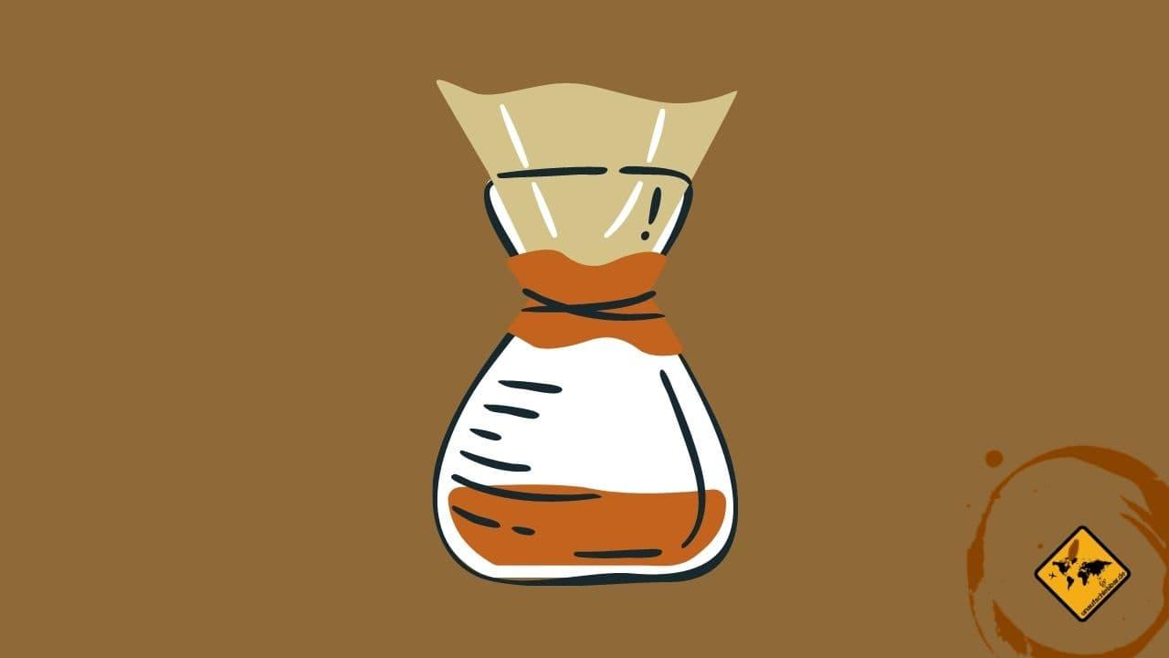 Filter Kaffee auf Reisen zubereiten