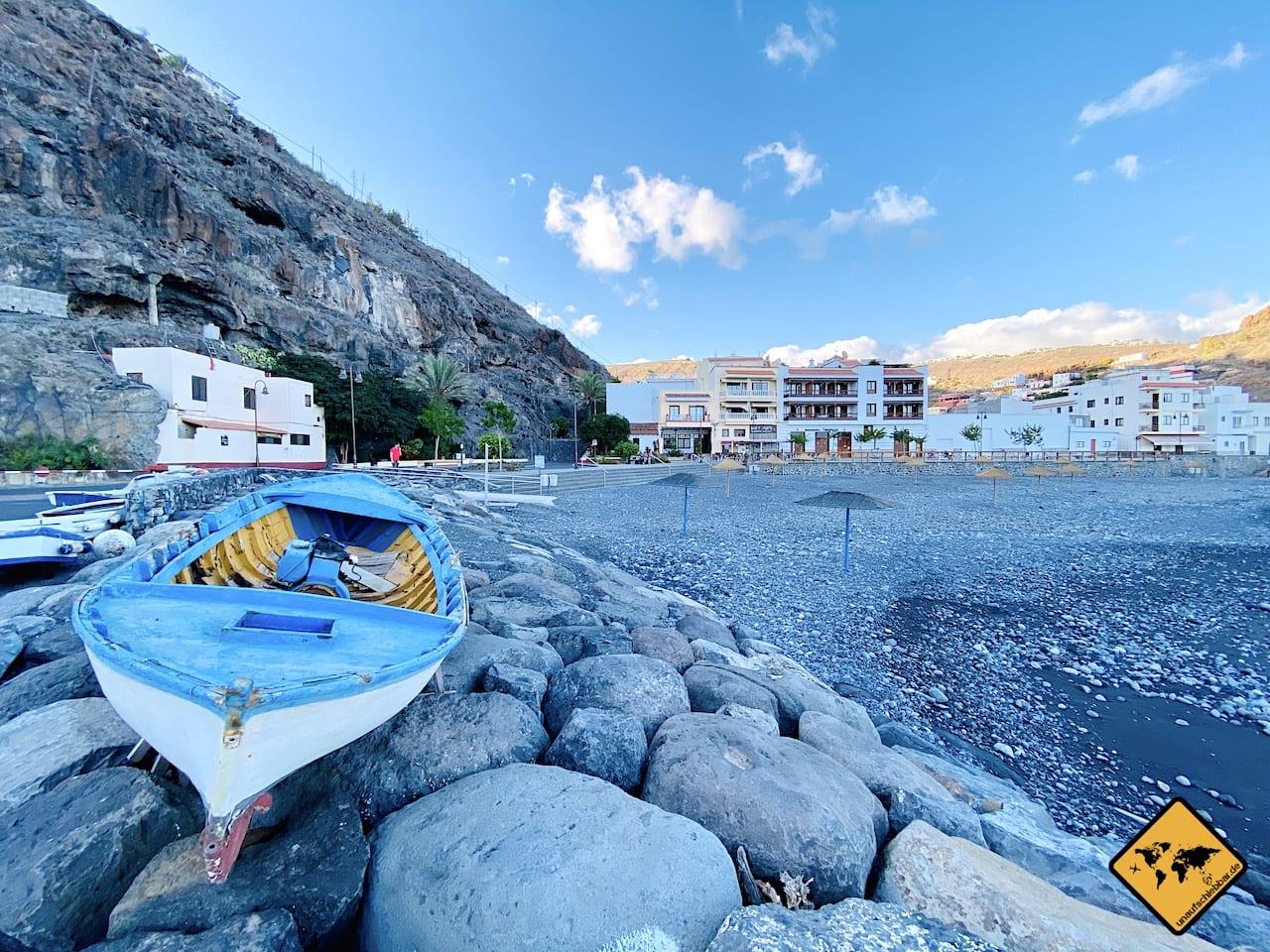 Fischerboot Strand Playa Santiago
