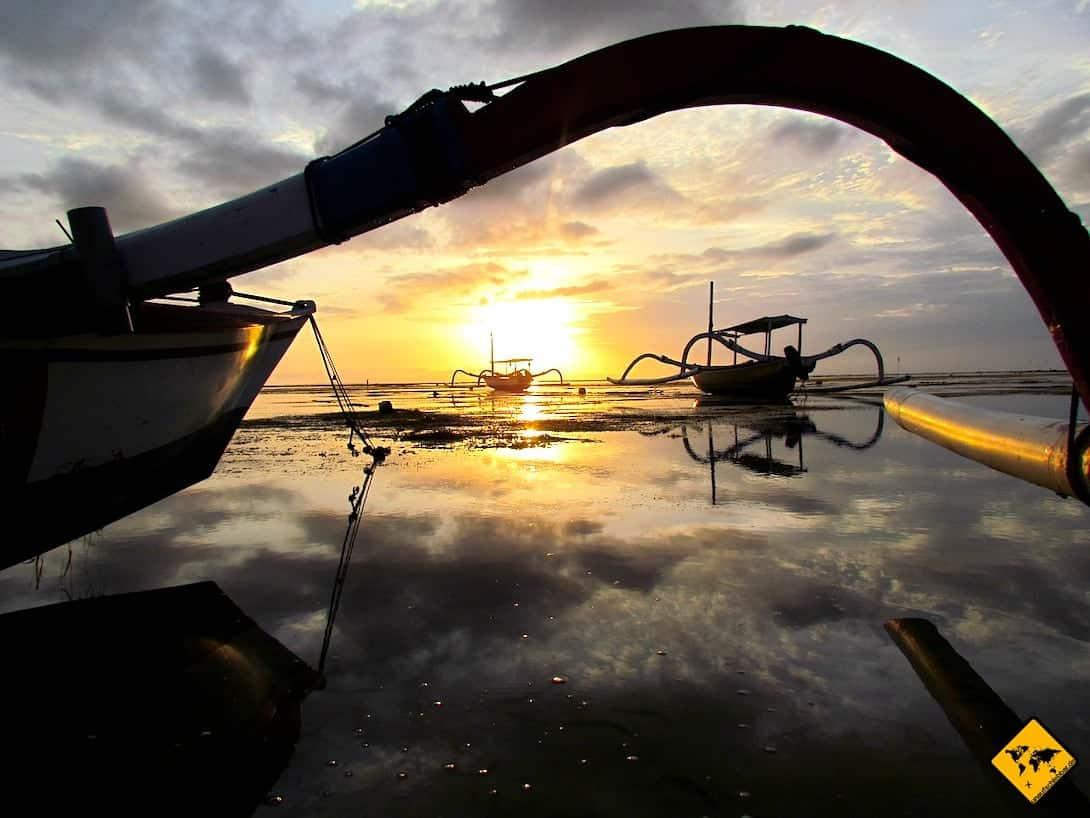 Fischerboote Bali Sanur