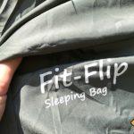 Fit Flip Reise- und Hüttenschlafsack