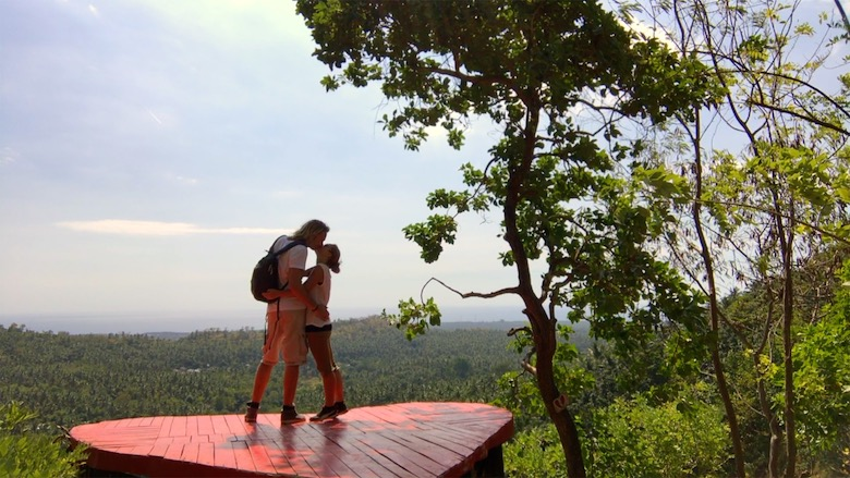 Flitterwochen auf Bali Foto-Shooting