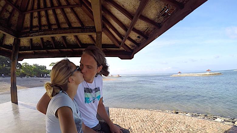 Flitterwochen auf Bali Sanur