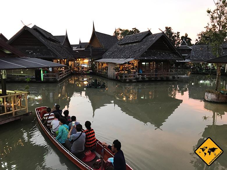 Floating Market Pattaya Klongfahrt