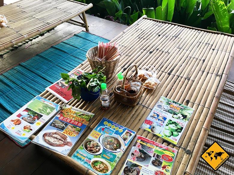 Floating Market Pattaya Speisen