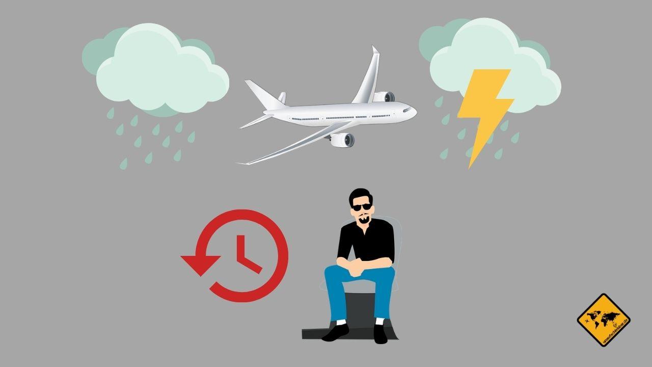 Flugverspätung Ansprüche Wetter