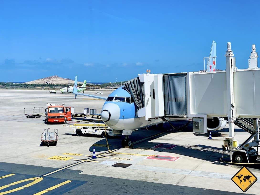 Flugzeug Aeropuerto de Gran Canaria
