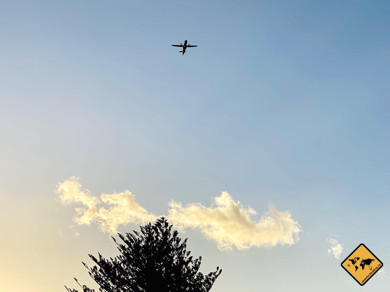 Flugzeug La Gomera