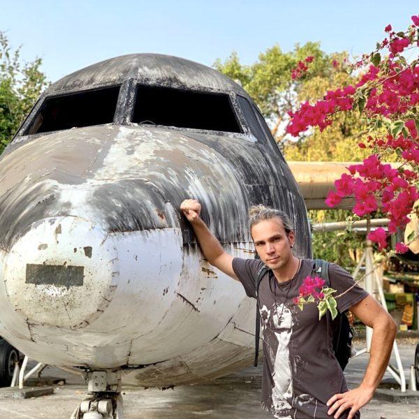 Flugzeug-Wrack Yangon Myanmar