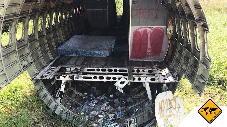 Flugzeugfriedhof Bangkok Bewohner