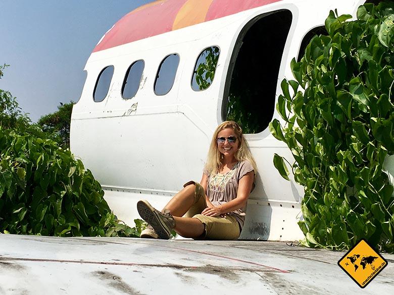 Flugzeugfriedhof Bangkok Flugträger