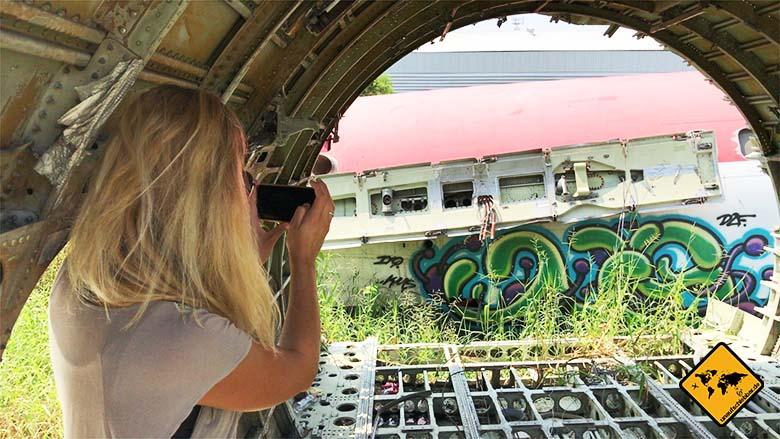 Flugzeugfriedhof Bangkok Fotomotive