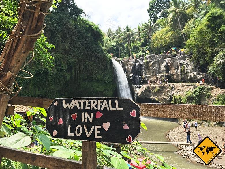 Fotoherz Tegenungan Waterfall Bali