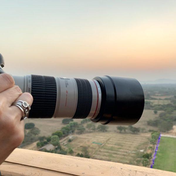Fotoobjektiv Nan Myint Tower Bagan