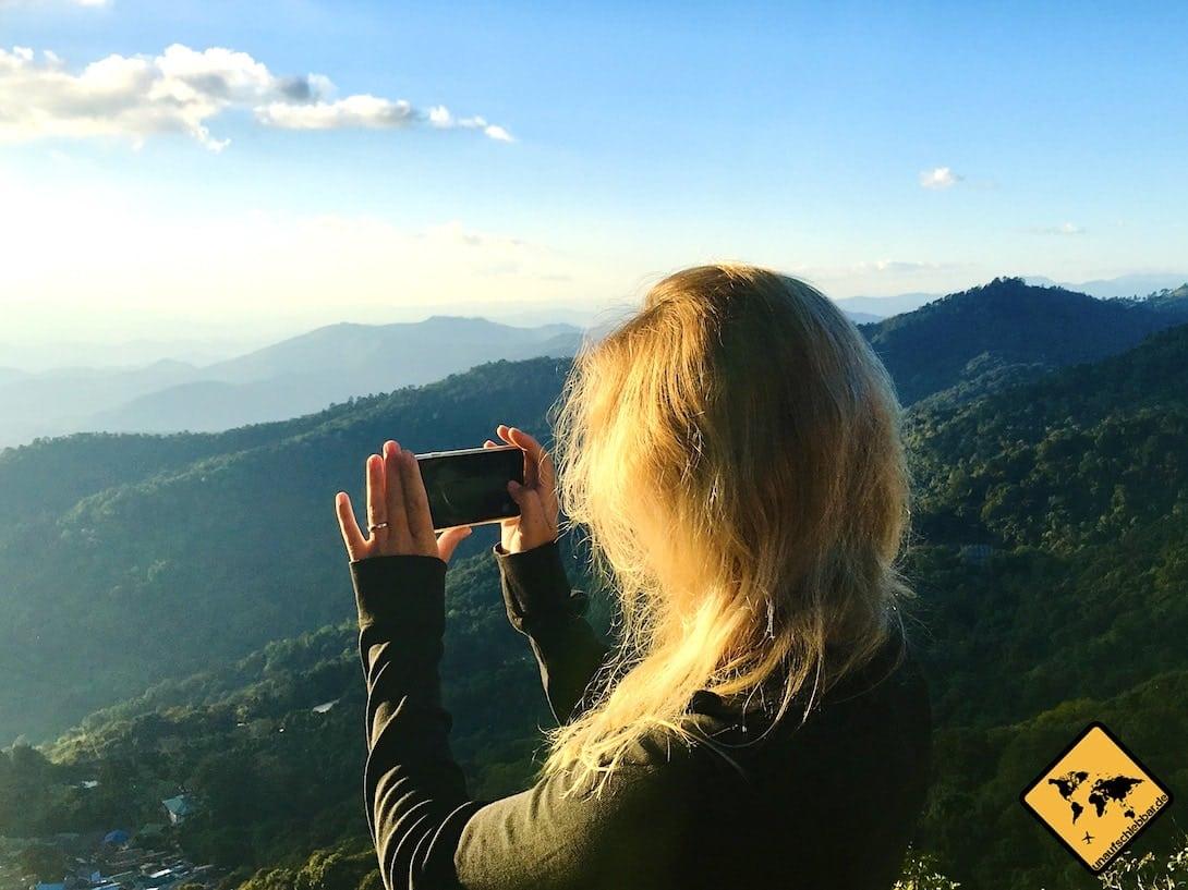 Fotos mit dem Smartphone machen Thailand