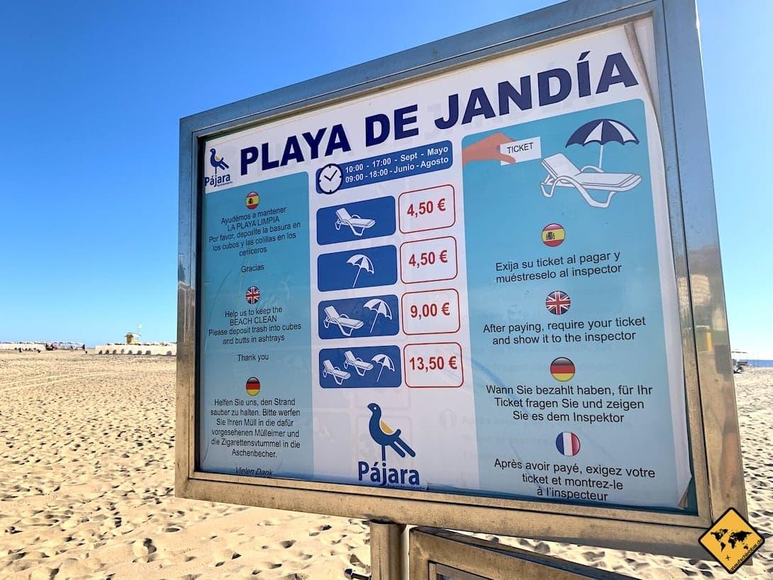 Fuerteventura Badeurlaub Playa de Jandía