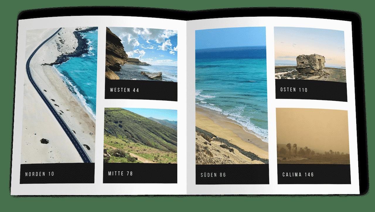 Fuerteventura Bildband Inhaltsverzeichnis