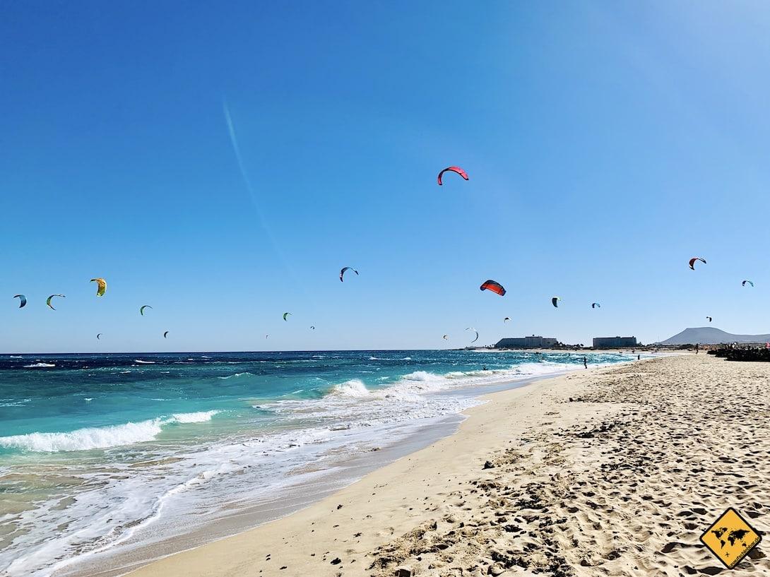 Fuerteventura Flag Beach kiten