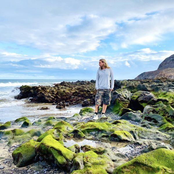 Fuerteventura Geheimtipps Pozo Negro Moos-Steine