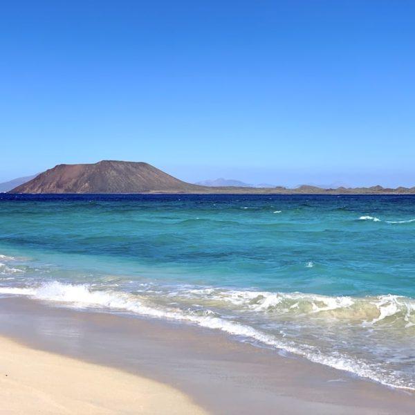 Fuerteventura Grandes Playas de Corralejo türkises Meer