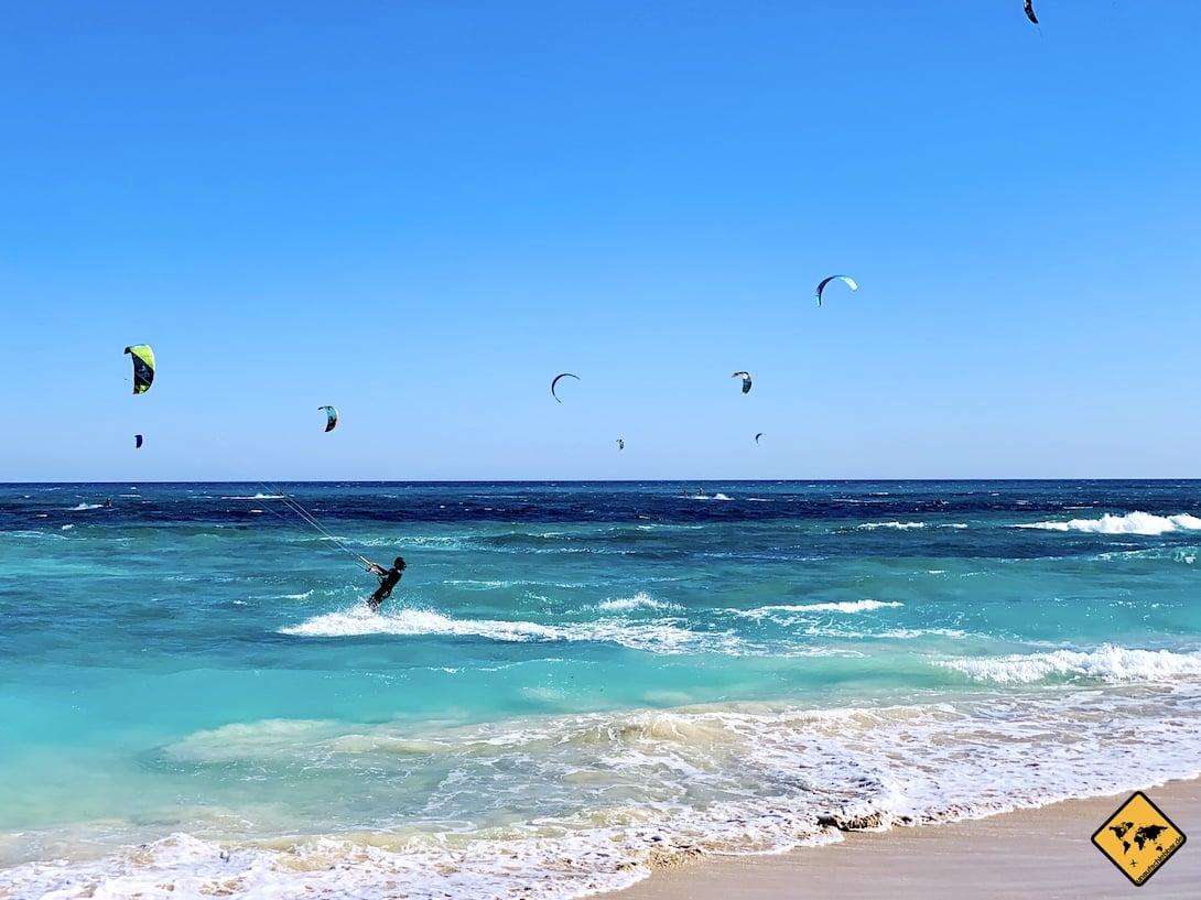 Fuerteventura Kitesurfen Flag Beach