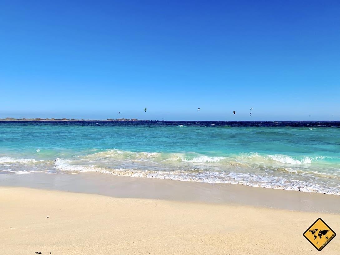 Fuerteventura Strände Corralejo Grandes Playas