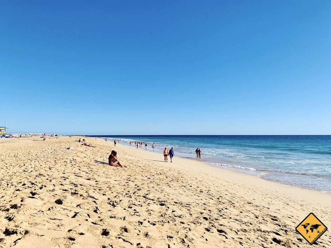 Fuerteventura Strände Morro Jable Playa del Matorral