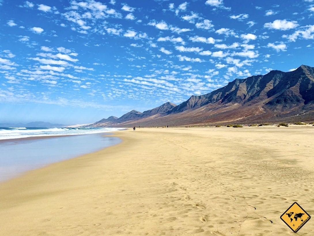 Fuerteventura Strände Playa de Cofete