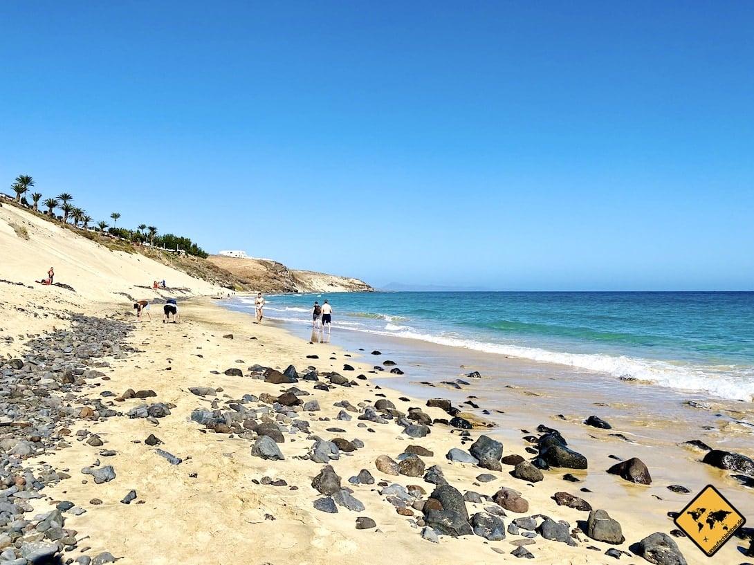 Fuerteventura Strände Playa de Esquinzo Süd