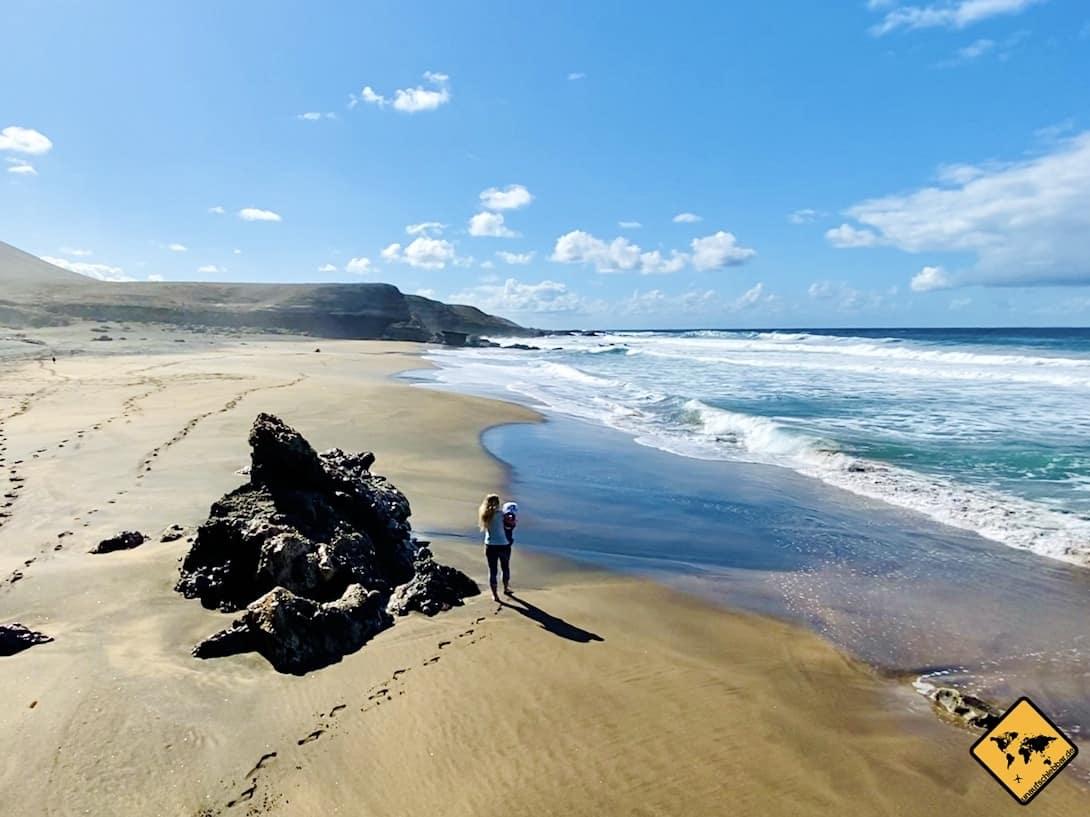 Fuerteventura Strände Playa de la Solapa