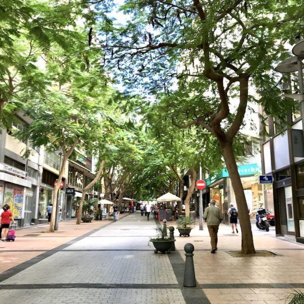Fußgängerzone Santa Cruz de Tenerife