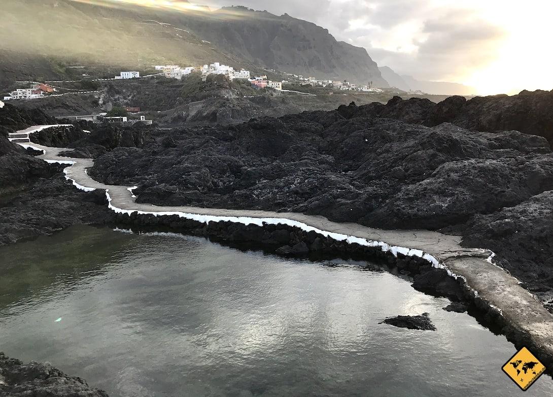 Garachico Naturpool Teneriffa Kanaren
