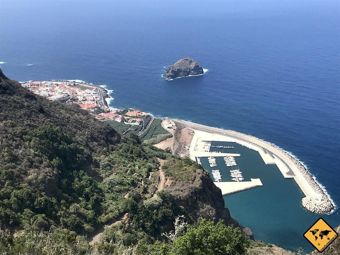 Garachico Teneriffa Aussichtspunkt