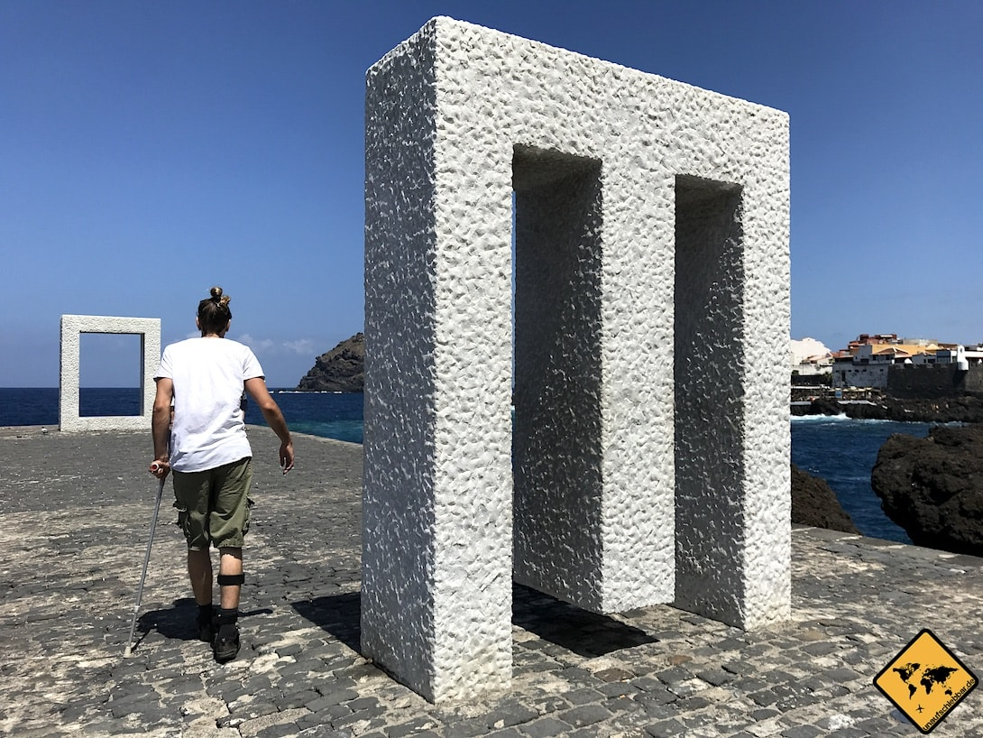 Garachico Teneriffa Skulptur