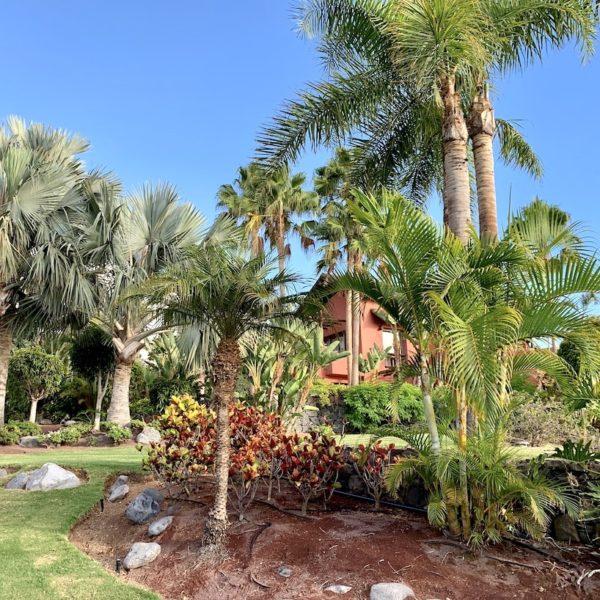Gartenanlage Ritz-Carlton Teneriffa