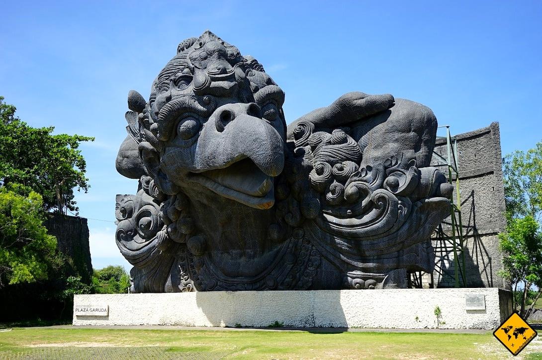 Garuda Wisnu Kencana Park Vogel Skulptur