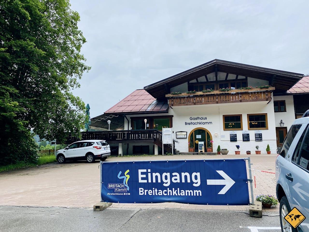 Gasthaus Breitachklamm