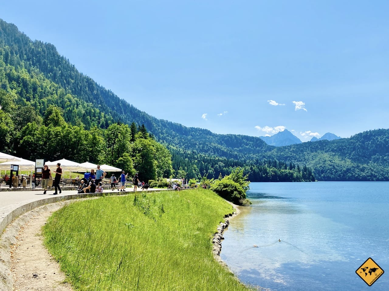 Gastronomie Alpsee Ufer