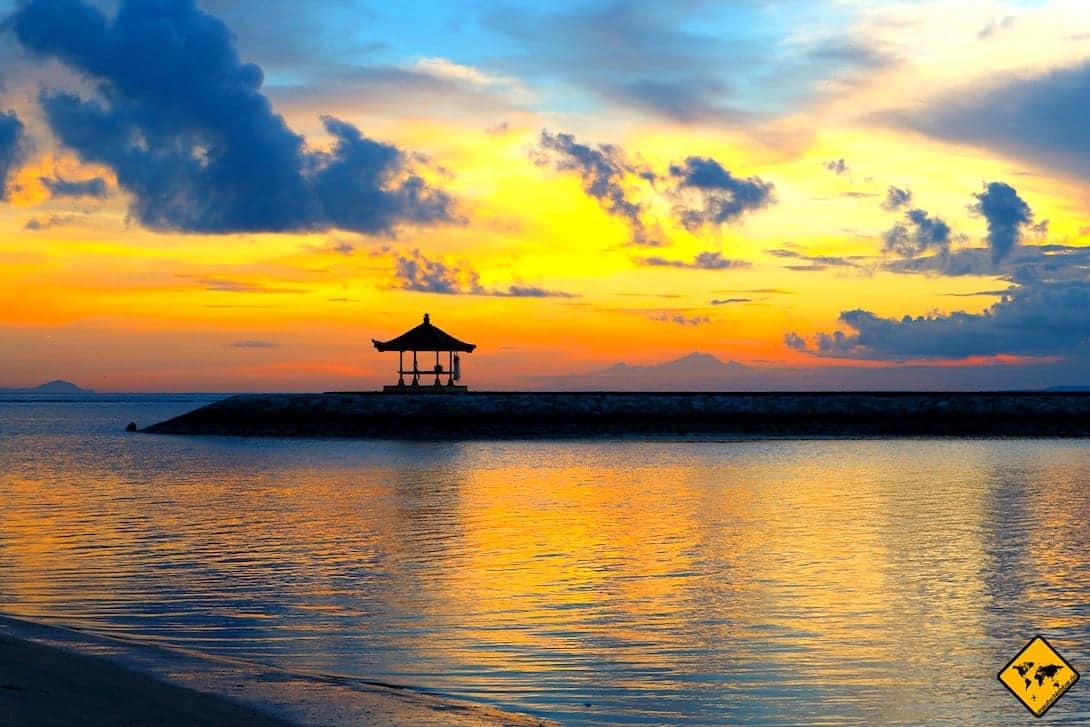 Gazebo Meer Sanur Bali