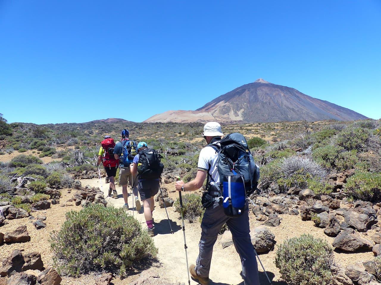 Geführte Wanderung auf den Teide