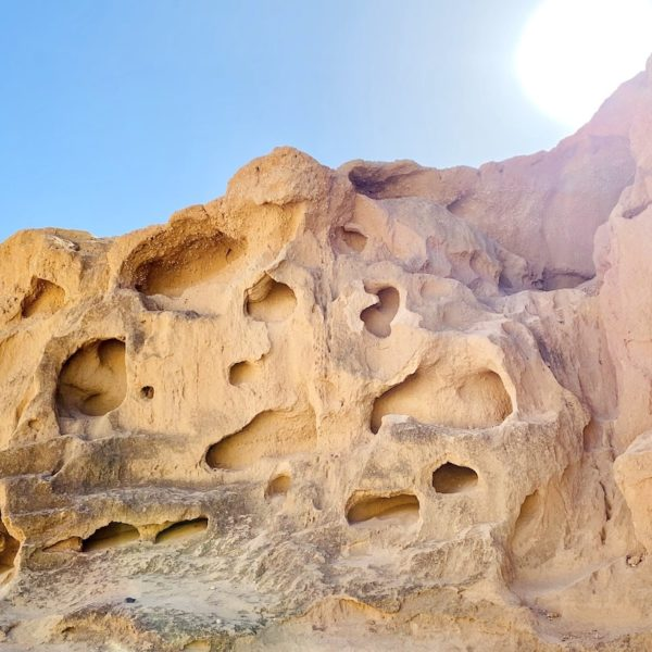 Geheimtipps auf Fuerteventura Barranco de los Enamorados Sandsteine