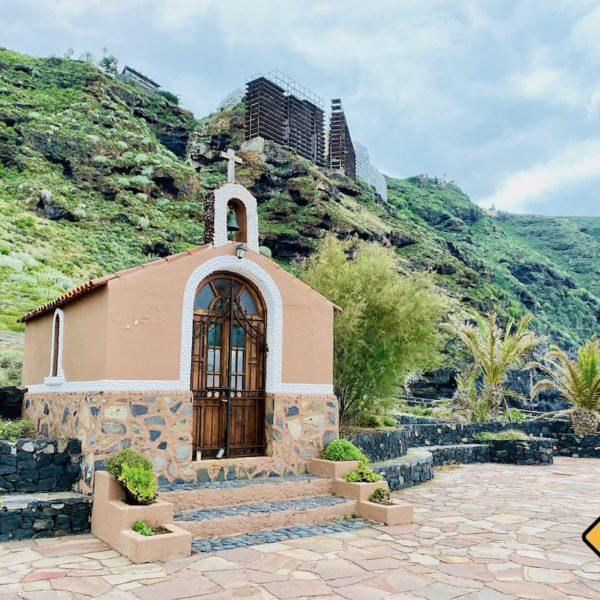 Geheimtipps auf Teneriffa Costa Sauzal Kapelle Ruine