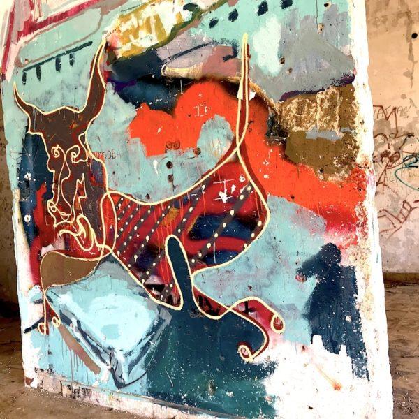 Geisterstadt Abades Graffiti Teneriffa
