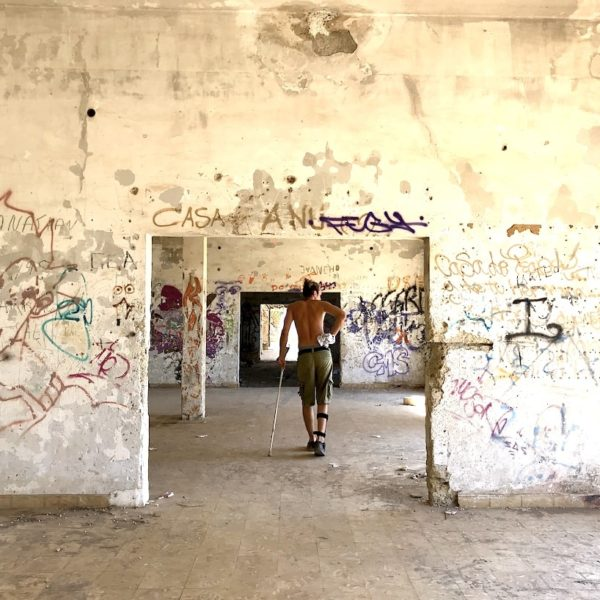 Geisterstadt Abades Teneriffa Ruinen